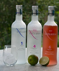 Exclusiv vodka was introduced to the U.S. this spring and already has beeen adopted by many reviewers.