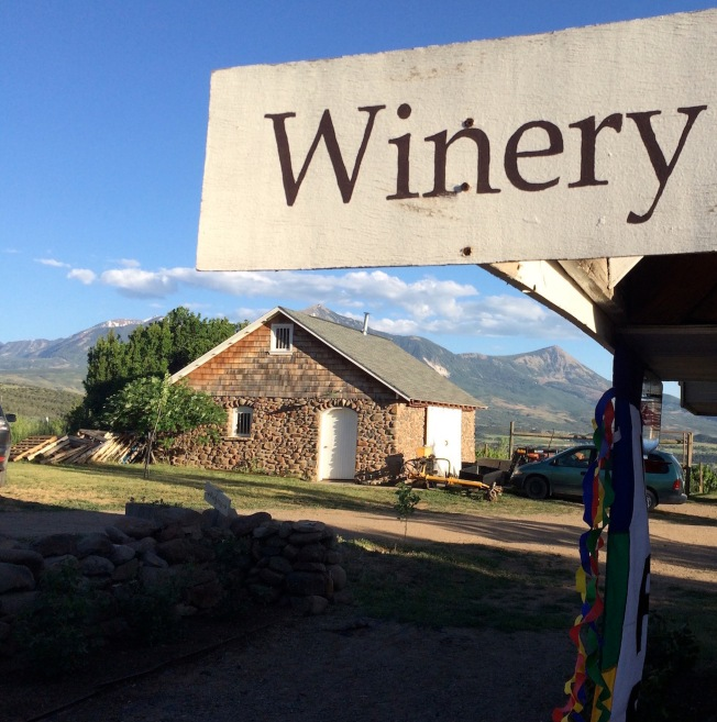 As Colorado wineries mature, they have become more comfortable with making wines that reflect their places of origin. Photo taken at Stone Cottage Cellars, Paonia, Co., elevation feet, the second highest elevation vineyard in North America.