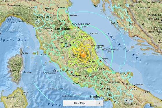 It Was Dante S Inferno Says Survivor Of Central Italy